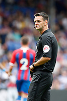 Referee, Andy Madley during the pre season friendly match between Crystal Palace and Hertha BSC at Selhurst Park, London, England on 3 August 2019. Photo by Carlton Myrie / PRiME Media Images.