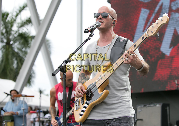 MIAMI, FL - APRIL 22: Cultura Profetica performs during The 1st Annual Kaya Fest at Bayfront Park Amphitheater in Miami. April 22, 2017. <br /> CAP/MPI/AG<br /> ©AG/MPI/Capital Pictures