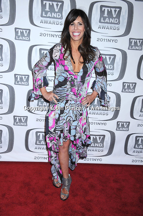 Cindy Barshop  of The Real Housewives of NYC in Roberto Cavalli dress attending The TV Land Awards 2011 .on April 10, 2011 at the Jacob Javits Center in New York City.