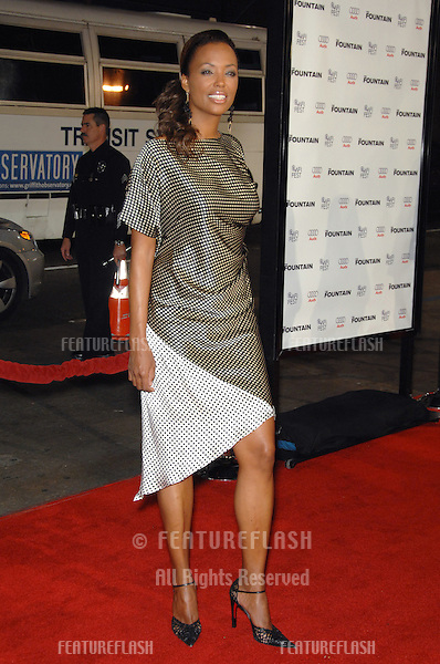 """AISHA TYLER at the US premiere of """"The Fountain"""" at Grauman's Chinese Theatre, Hollywood..November 11, 2006  Los Angeles, CA.Picture: Paul Smith / Featureflash"""