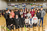 Killarney Community College students at the ETB Spikeball Blitz in the Tralee Sports Complex on Tuesday.