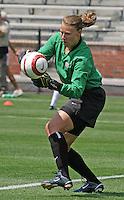 Kristin Luckenbill.US Women's National Team vs Brazil at Legion Field in Birmingham, Alabama.