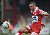 20160723 - KORTRIJK , BELGIUM : Kortrijk's Idir Ouali pictured during a friendly game between KV Kortrijk and Krylia Sovetov SAMARA during the preparations for the 2016-2017 season , Saturday 23 July 2016 ,  PHOTO David Catry   Sportpix.Be