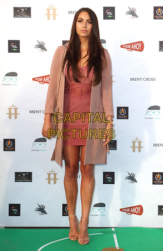 Victoria Winterford at the first ever UK Drive-In Film Premiere of 'Break' at Brent Cross in London. This is the first Red Carpet event in the UK since the Covid-19 Pandemic lockdown. The film will be rolled out nationwide in other drive-in venues. Brent Cross, London 22nd July 2020<br /> CAP/ROS<br /> ©ROS/Capital Pictures