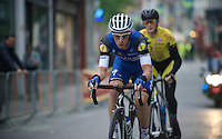 Iljo Keisse (BEL/Etixx-QuickStep) setting the pace<br /> <br /> Post-Tour Criterium Mechelen (Belgium) 2016