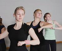 African Dance class at University of Surrey
