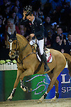 Bertram Allen on Quiet Easy 4 competes and wins during Longines Speed Challenge at the Longines Masters of Hong Kong on 20 February 2016 at the Asia World Expo in Hong Kong, China. Photo by Juan Manuel Serrano / Power Sport Images