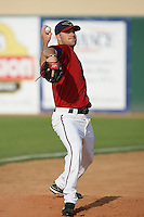 April 17, 2010: Dallas Keuchel of the Lancaster JetHawks before game against the Rancho Cucamonga Quakes at Clear Channel Stadium in Lancaster,CA.  Photo by Larry Goren/Four Seam Images