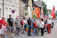 Protestveranstaltung gegen die Wahlkampfveranstaltung der AfD in der Groß-Gerauer Stadthalle - Gross-Gerau 10.07.2021: Protest gegen AfD Veranstaltung