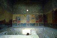 Italy: Pompeii--Pompeiian House. Bath?
