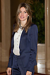 MADRID, (27/09/2010).- Madrid Princess Letizia attended an audience to a representation of Coca Cola Foundation patronage, at Zarzuela Palace in Madrid. ..Photo: Cear Cebolla / ALFAQUI