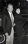 Tab Hunter with Liz Torrez attend the 'Grease 2' Premiere Party on June 9, 1982 at the Red Parrot in New York City.