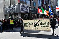 Saint-Patrick Parade, March 19, 2017<br /> <br /> PHOTO  :  Agence Quebec Presse