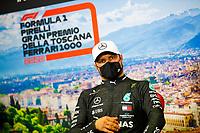 13th September 2020; Mugello race track, Scarperia e San Piero, Tuscany, Italy ; Formula 1 Grand Prix of Tuscany, Race Day;  77 Valtteri Bottas FIN, Mercedes-AMG Petronas Formula One Team