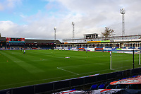 31st October 2020; Kenilworth Road, Luton, Bedfordshire, England; English Football League Championship Football, Luton Town versus Brentford; General view of Kenilworth Stadium Empty due to the pandemic