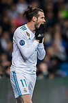 Gareth Bale of Real Madrid reacts during the UEFA Champions League 2017-18 Round of 16 (1st leg) match between Real Madrid vs Paris Saint Germain at Estadio Santiago Bernabeu on February 14 2018 in Madrid, Spain. Photo by Diego Souto / Power Sport Images