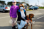 Enjoying a stroll in the Killarney National park on Saturday, l to r: Ann Marie and Joanne Cronin with Koby the dog.
