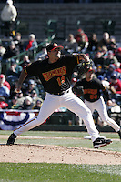 Rochester Red Wings Henry Bonilla during an International League game at Frontier Field on April 8, 2006 in Rochester, New York.  (Mike Janes/Four Seam Images)