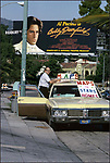 Al Pacino billboard with Maps to Stars Home, Sunset Strip, 1977