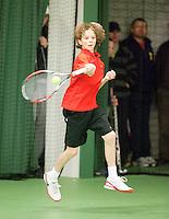 15-3-09, Rotterdam, Nationale Overdekte Jeugdkampioenschappen 12 en 18 jaar,   Guus. Koevermans