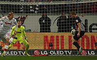 Martin Hinteregger (Eintracht Frankfurt) bekommt den Ball und erzielt das Tor zum 1:0 - 18.12.2019: Eintracht Frankfurt vs. 1. FC Koeln, Commerzbank Arena, 16. Spieltag<br /> DISCLAIMER: DFL regulations prohibit any use of photographs as image sequences and/or quasi-video.