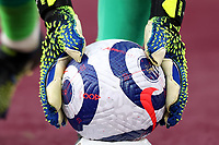 21st March 2021; London Stadium, London, England; English Premier League Football, West Ham United versus Arsenal; Lukasz Fabianski of West Ham United picks up a spare ball