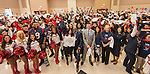 Group photo at the conclusion of the Houston launch of the Character Playbook, a joint initiative of the NFL and the United Way Worldwide at Pilgrim Academy, February 3, 2017.