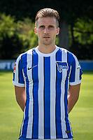 17th August 2020; Berlin, Germany. Hertha Berlin official Bundesliga season portraits, season 2020-21:  Peter Pekarik Hertha BSC, No.02