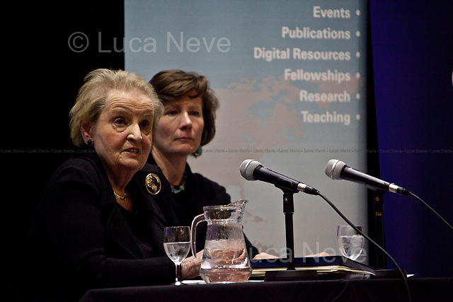 Madeleine Korbel Albright, former United States Secretary of State - 2011<br />