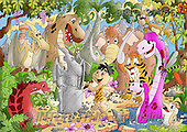 Alfredo, CUTE ANIMALS, puzzle, paintings(BRTO27056,#AC#) illustrations, pinturas, rompe cabeza