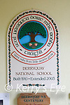The wall plaque of Derryquay NS