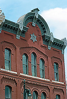 Austin:  1870's Commercial Bldg., 208 6th St. A magnificent cornice!
