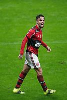25th August 2021; Arena do Gremio, Porto Alegre, Brazil; Copa Do Brazil, Gremio versus Flamengo; Michael of Flamengo celebrates his goal in the 85th minute for 2-0