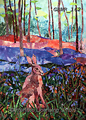 Simon, REALISTIC ANIMALS, REALISTISCHE TIERE, ANIMALES REALISTICOS, innovative, paintings+++++KateFindlay_Harewood,GBWR162,#a#, EVERYDAY