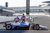 #30: Takuma Sato, Rahal Letterman Lanigan Racing Honda poses for photos Eddie Jones