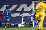 25.10.2020 Rangers v Livingston: Alan McGregor saves