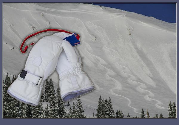 Avalanche and figure eight turns, Breckenridge, Colorado,USA