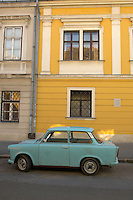 Trabant in the Castle area of Budapest Hungary