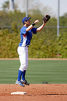 Hak-Ju Lee- Chicago Cubs - 2009 spring training.Photo by:  Bill Mitchell/Four Seam Images