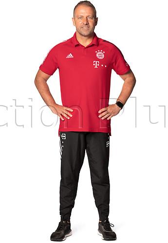 26th October 2020, Munich, Germany; Bayern Munich official seasons portraits for season 2020-21;  Trainer Hansi Flick
