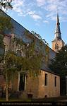 Sint-Annakerk, Tower 1516, Baroque Church 1657-68, Sint-Annaplein, Bruges, Brugge, Belgium
