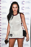 Marnie Simpson<br /> arriving at James Ingham's Jog On To Cancer, in aid of Cancer Research UK at The Roof Gardens in Kensington, London. <br /> <br /> <br /> ©Ash Knotek  D3248  12/04/2017