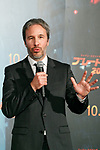 Director Denis Villeneuve speaks during a Japan Premiere for the film Blade Runner 2049 on October 24, 2017, Tokyo, Japan. Villeneuve, along with actor Harrison Ford and actresses Ana de Armas and Sylvia Hoeks, greeted the fans at the event. The movie Japanese theaters on October 27. (Photo by Rodrigo Reyes Marin/AFLO)