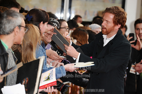 """Damian Lewis arrives for the premiere of """"A Little Chaos"""" at the Odeon Kensington, London. 13/04/2015 Picture by: Steve Vas / Featureflash"""