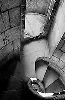 Barcellona, Spagna, Catalogna,  Gaudi, Antoni Gaudi, Sagrada Familia,  scala a chocciola,
