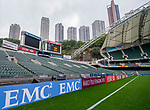 General View during the Cathay Pacific / HSBC Hong Kong Sevens at the Hong Kong Stadium on 28 March 2014 in Hong Kong, China. Photo by Aitor Alcalde / Power Sport Images