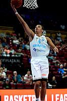 GRONINGEN - Basketbal, Donar - Groen Uilen, voorbereiding seizoen 2021-2022, 21-08-2021,  Donar speler Sheyi Adetunji