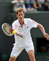 04-07-12, England, London, Tennis , Wimbledon,  Florian Mayer
