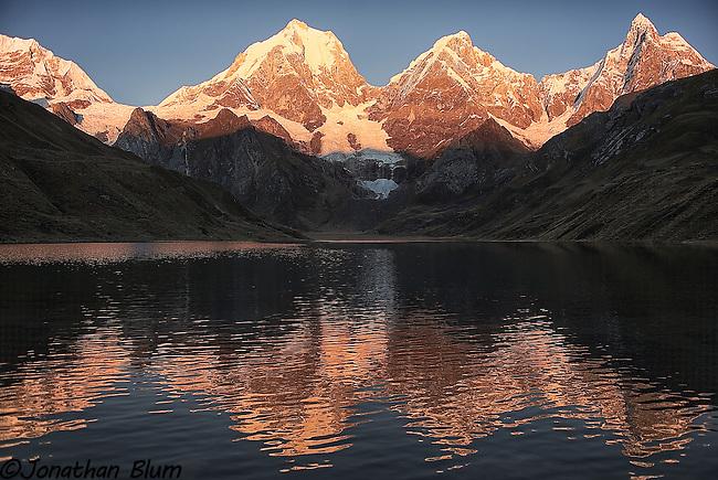 Peaks and Reflections, Cordillera Huayuash, Peru