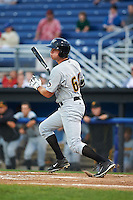 West Virginia Black Bears outfielder Ryan Nagle (64) at bat during a game against the Batavia Muckdogs on August 31, 2015 at Dwyer Stadium in Batavia, New York.  Batavia defeated West Virginia 5-4.  (Mike Janes/Four Seam Images)